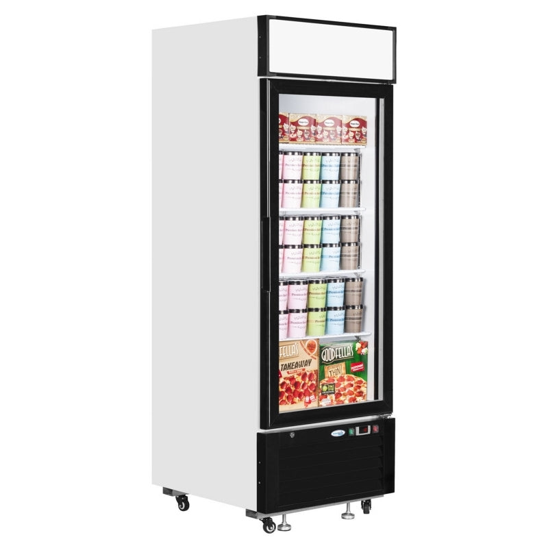 Interlevin Glass Door Display Freezer : LGF2500