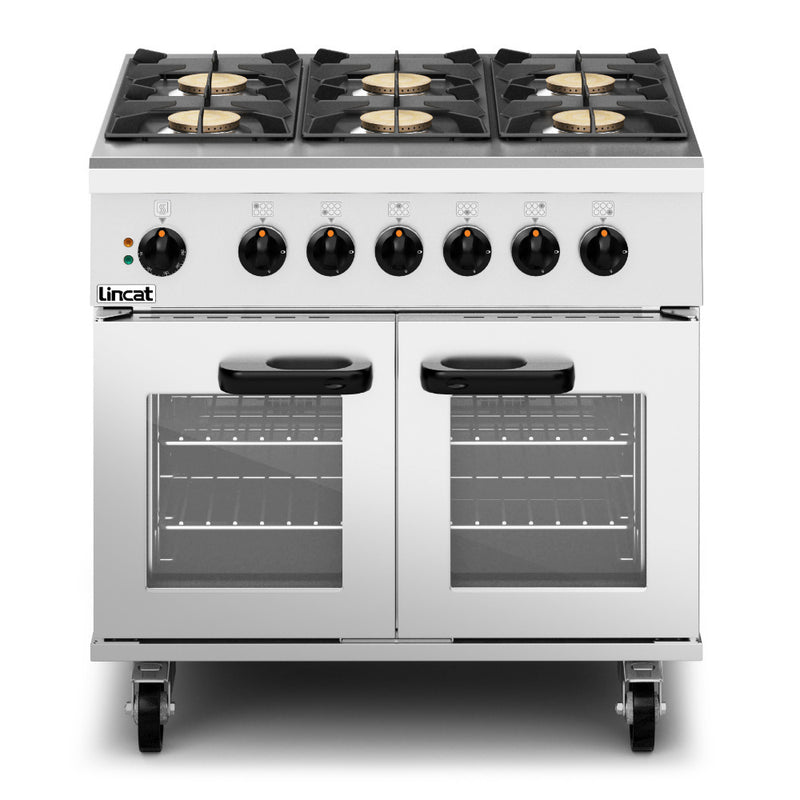 Lincat Phoenix Dual Fuel Natural Gas Free-standing Oven Range PHDR01/N