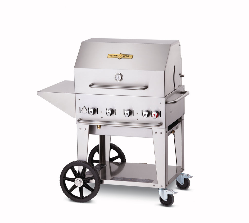 Crown Verity 4 Burner Mobile Barbecue Grill MCB30