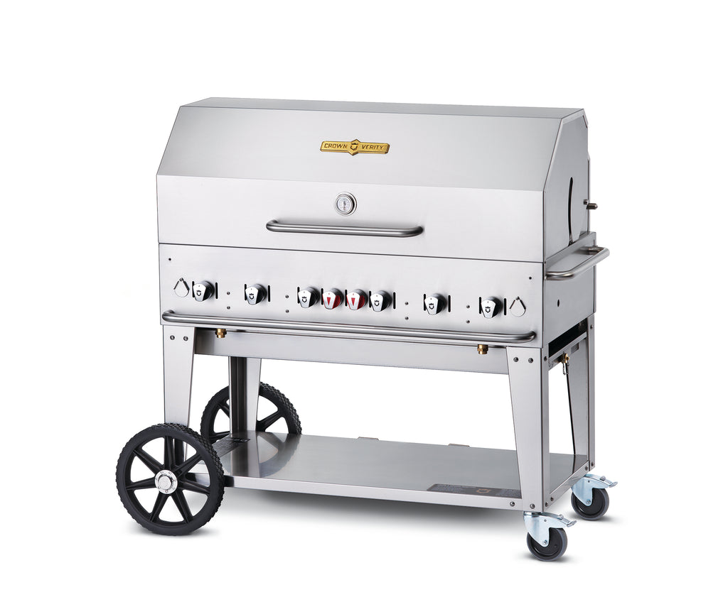 Crown Verity 6 Burner Mobile Barbecue Grill MCB48