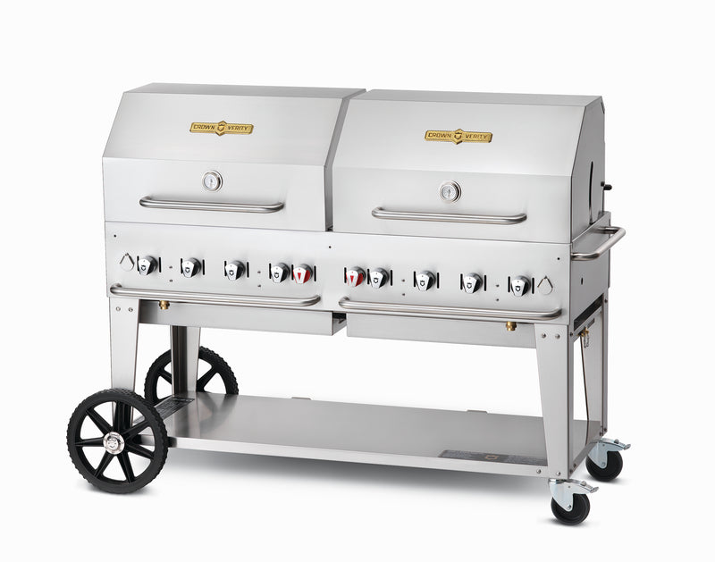 Crown Verity 8 Burner Mobile Barbecue Grill MCB60