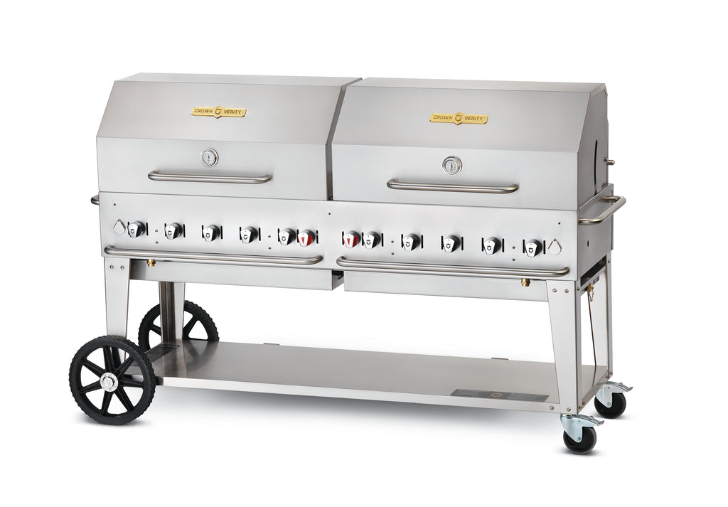 Crown Verity 10 Burner Mobile Barbecue Grill MCB72