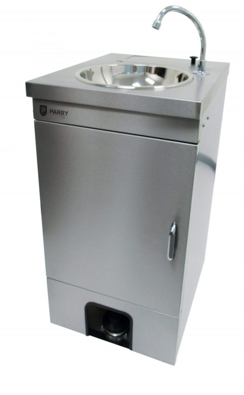 Parry Mobile Wash Basin With Door MWBTD