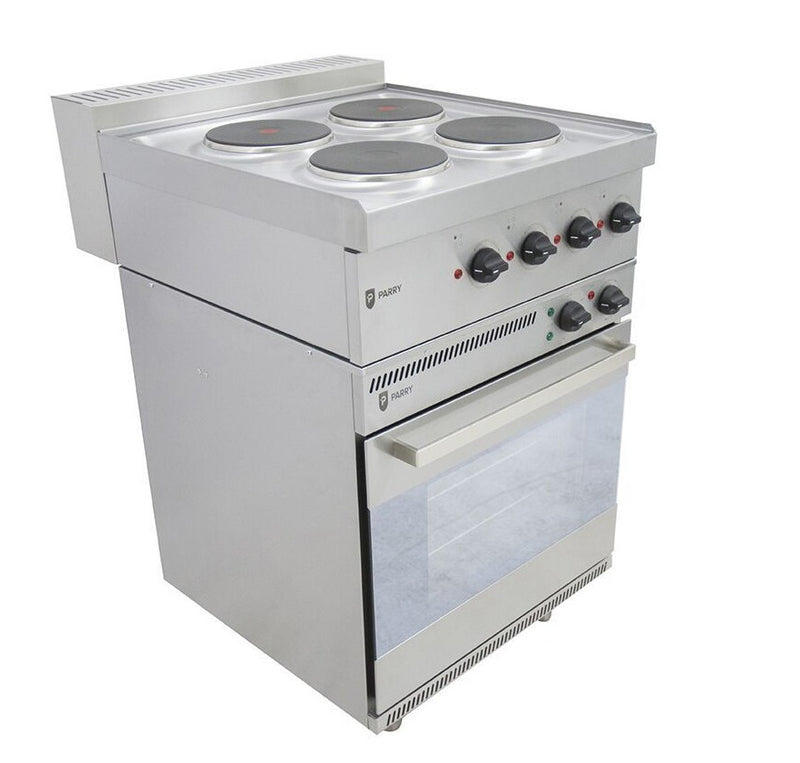 Parry PEO1871 Electric Oven with 4 Hob Top