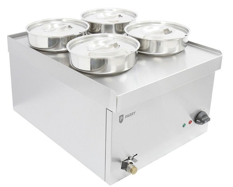 Parry NPWB4 Electric Wet Well Bain Marie