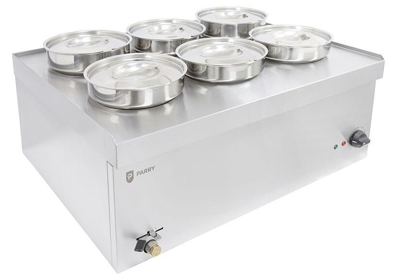 Parry NPWB6 Electric Wet Well Bain Marie