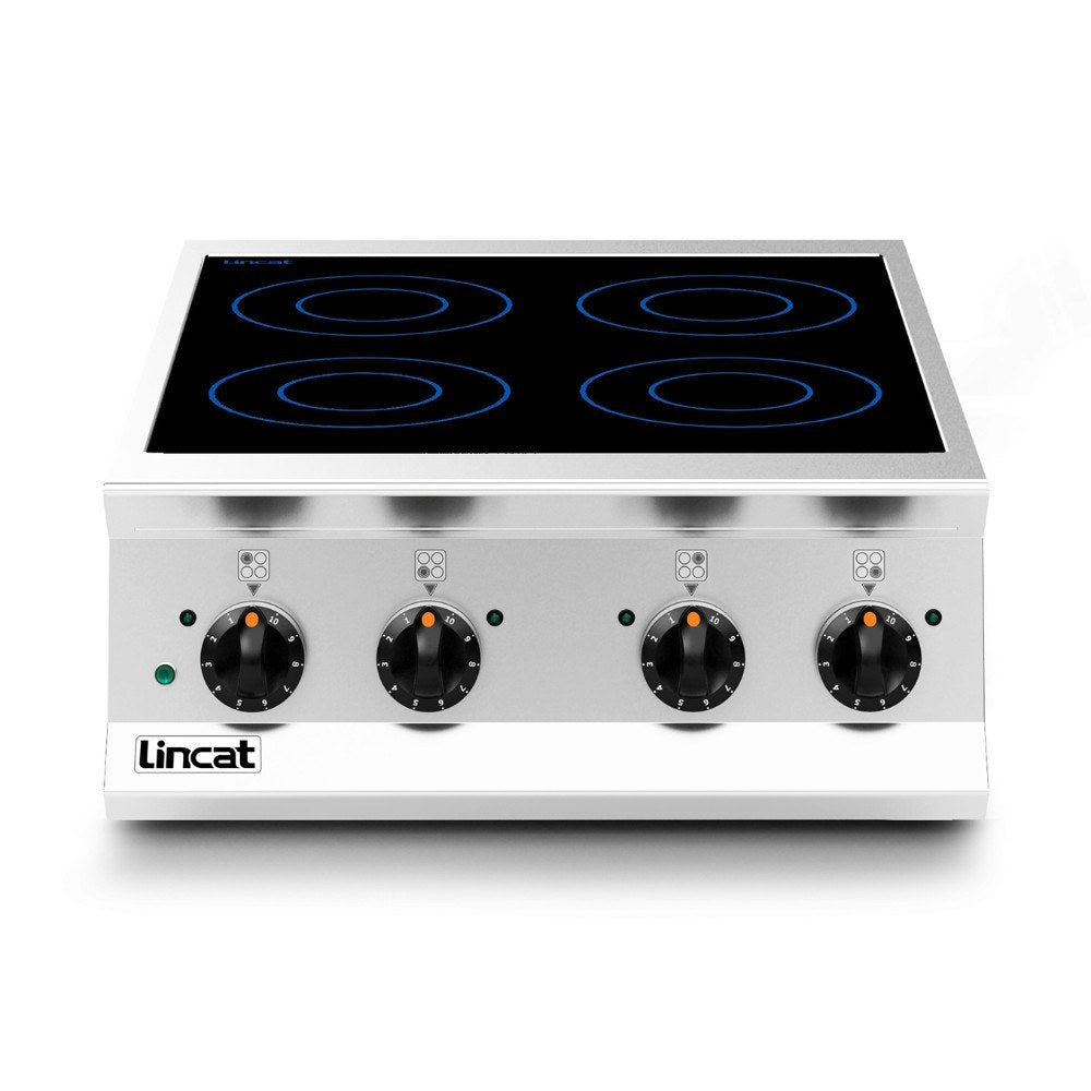 Lincat Opus 800 Electric Four Zone Induction Hob OE8014