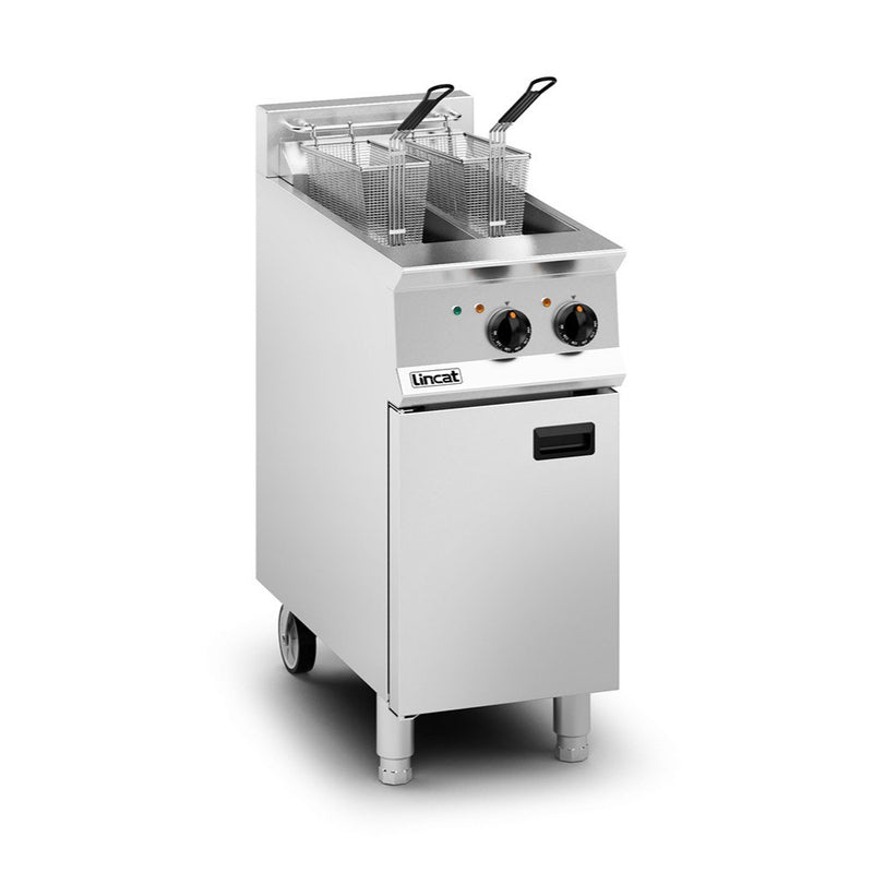 Lincat Opus 800 Twin Tank Electric Fryer : OE8105