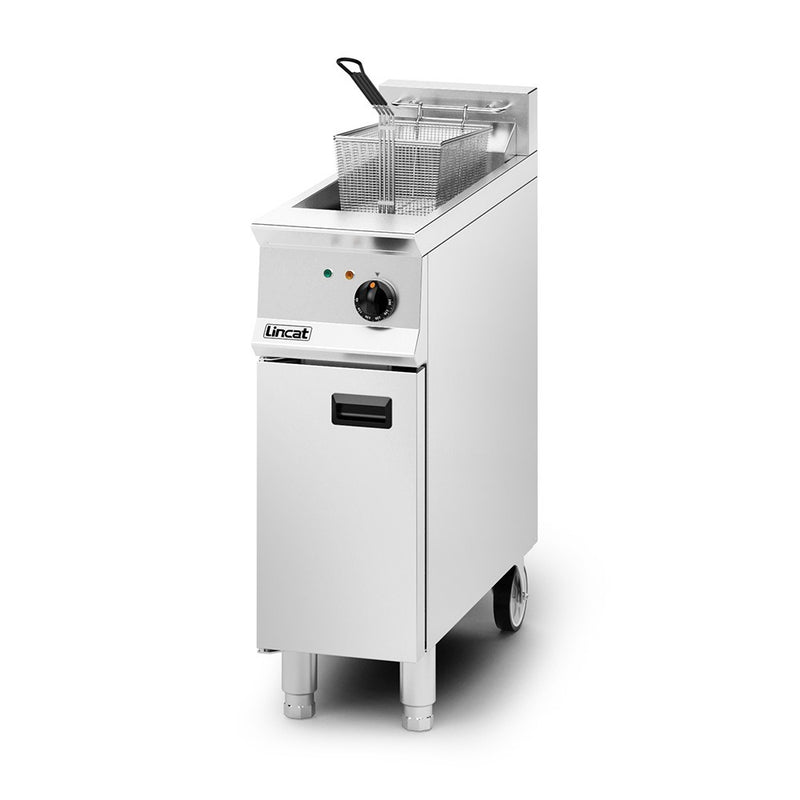 Lincat Opus 800 Electric Free-standing Single Tank, 1 Basket Fryer OE8112