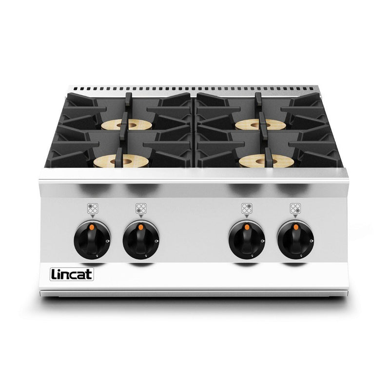 Lincat Opus 800 Gas Four Burner Boiling Top : OG8003/N