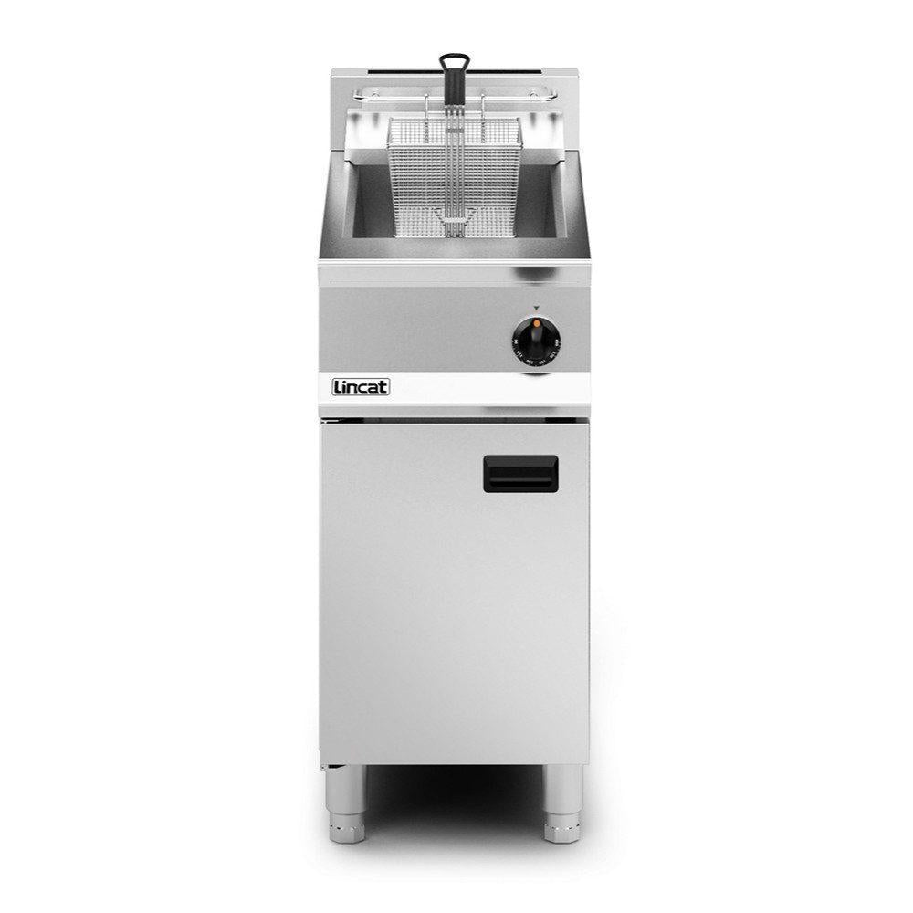 Lincat Opus 800 Single Tank Twin Basket Gas Fryer : OG8106/N