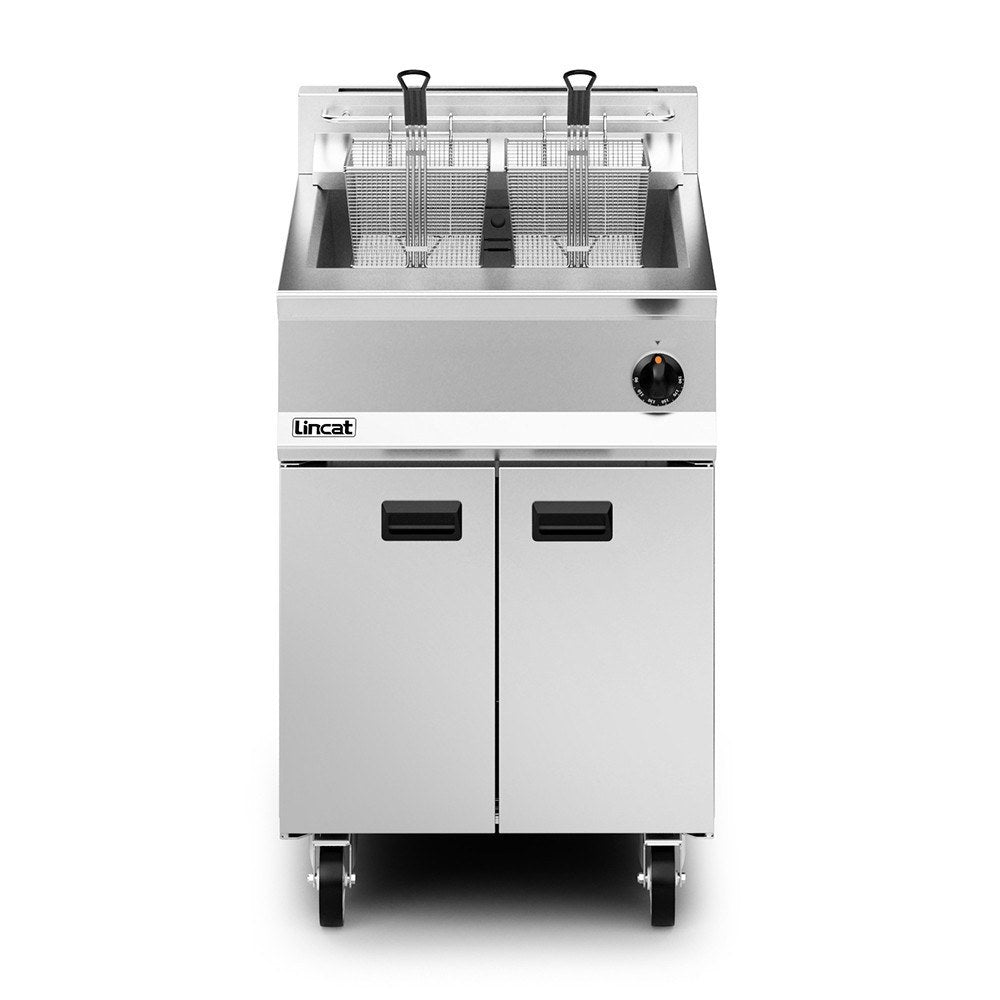 Lincat Opus 800 Twin Basket Gas Fryer : OG8107/N