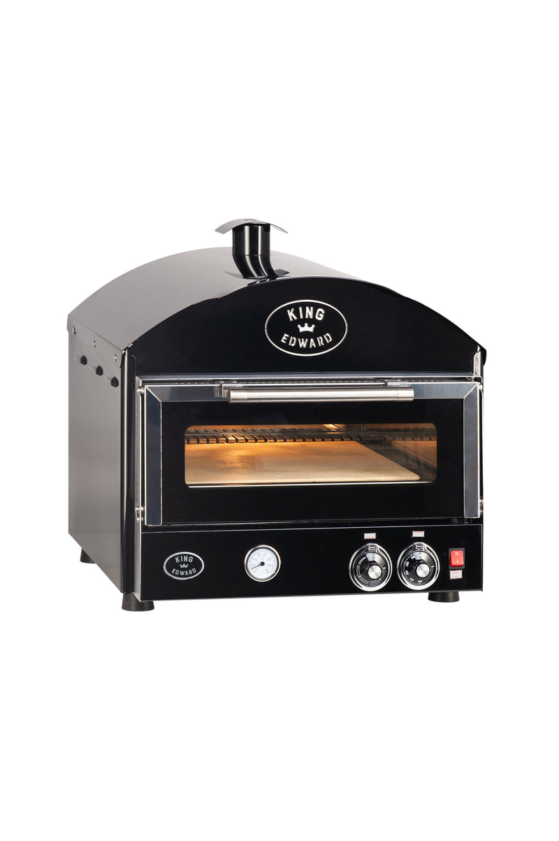 King Edward Pizza King Compact Oven PK1 - Black