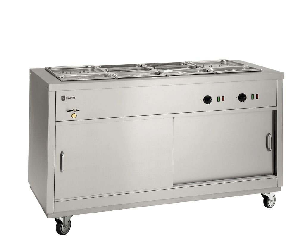 Parry Hot Cupboard with Bain Marie Top HOT 12BM