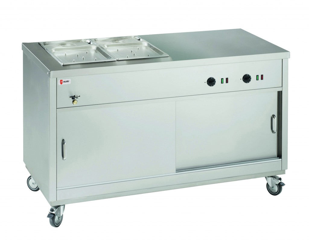 Parry HOT121/2BM Hot Cupboard with 1/2 Bain Marie