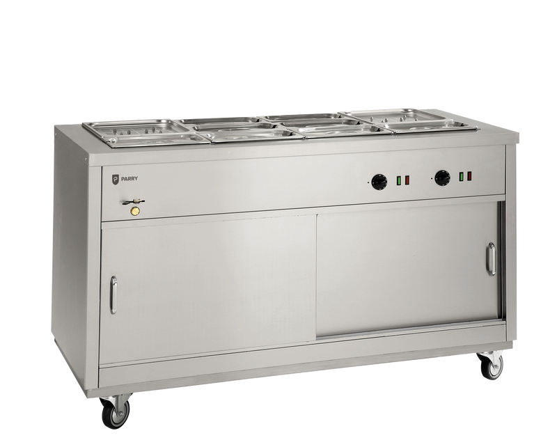 Parry Hot Cupboard with Bain Marie Top: HOT 18BM