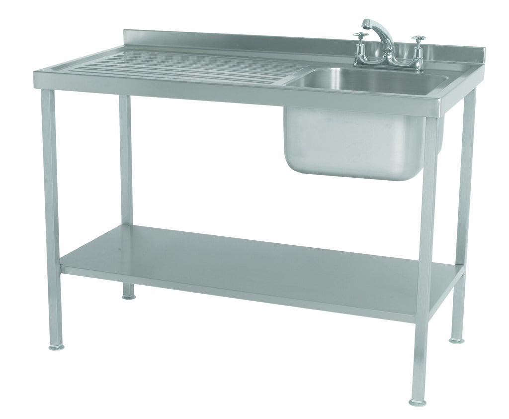 Parry Single Stainless Steel Sink with Drainer