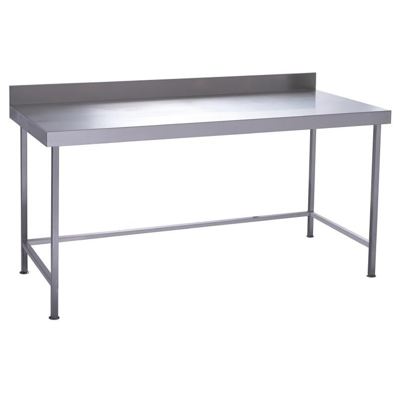 Parry Stainless Steel No Under Shelves Wall Table 1800 X 600 X 900