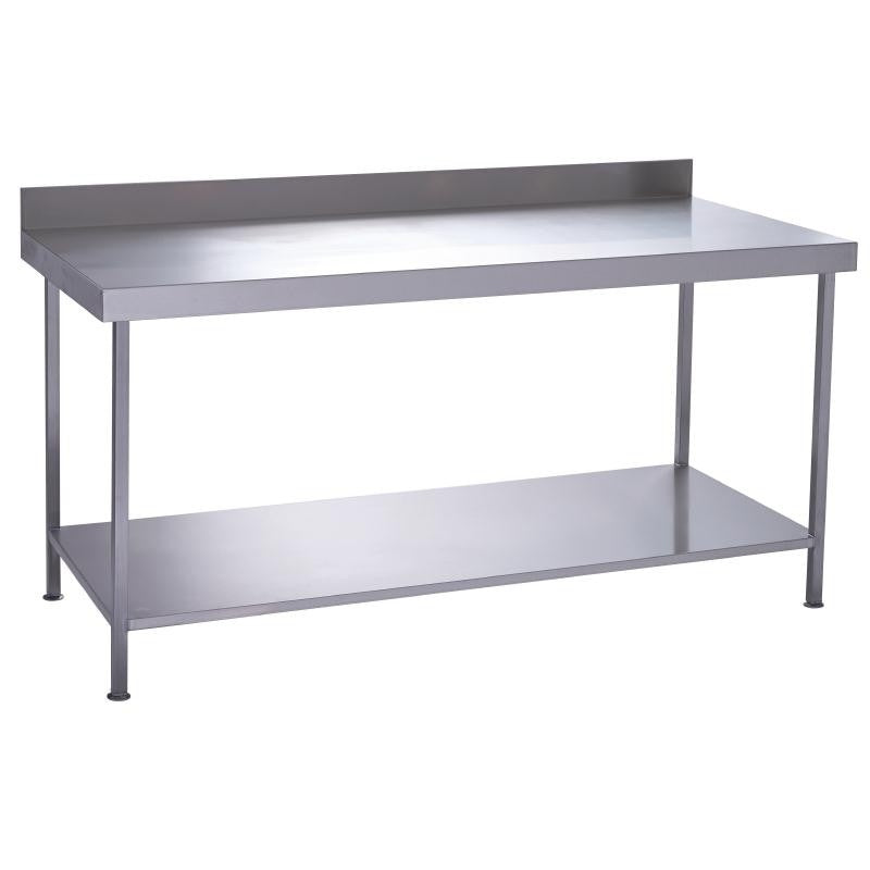 Parry Stainless Steel One Under Shelf Wall Table 1800 X 600 X 900
