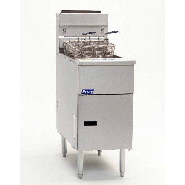 Pitco 21.5 Litre Single Tank 2 Basket Electric Fryer SE14-SSTC