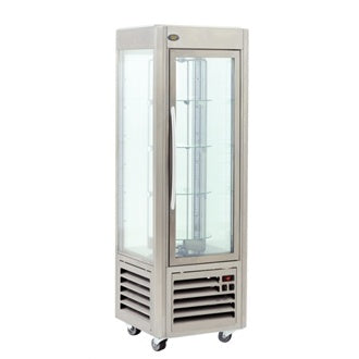 Roller Grill Rotating Shelf Frozen Display Cabinet : RDN 60T