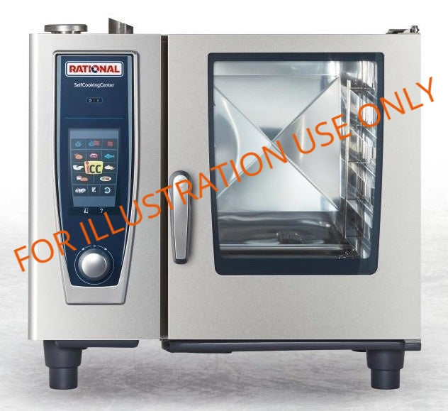 Rational 6 Grid Combi Oven SCC061E