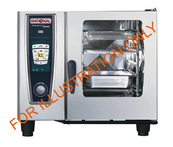 Rational 6 Rack SelfCooking Centre Combination Oven SCC61E