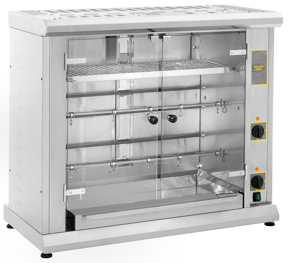 Roller Grill Electric Tabletop Chicken Rotisserie - RBE80