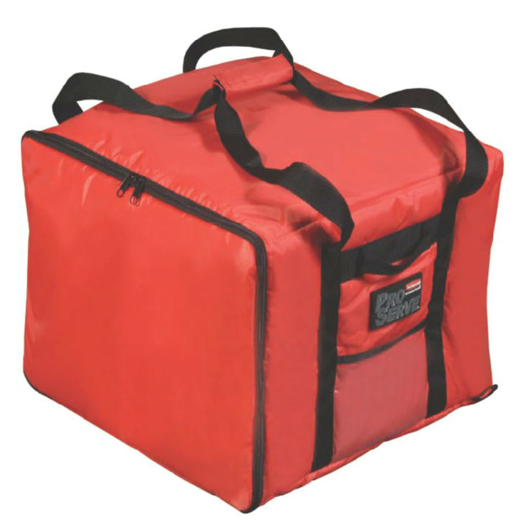 Rubbermaid Small Pizza Catering Bag FG9F3800RED