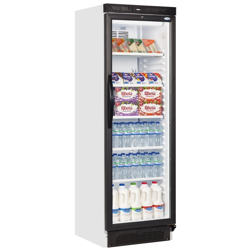Interlevin Glass Fronted Refrigerator : SC381B