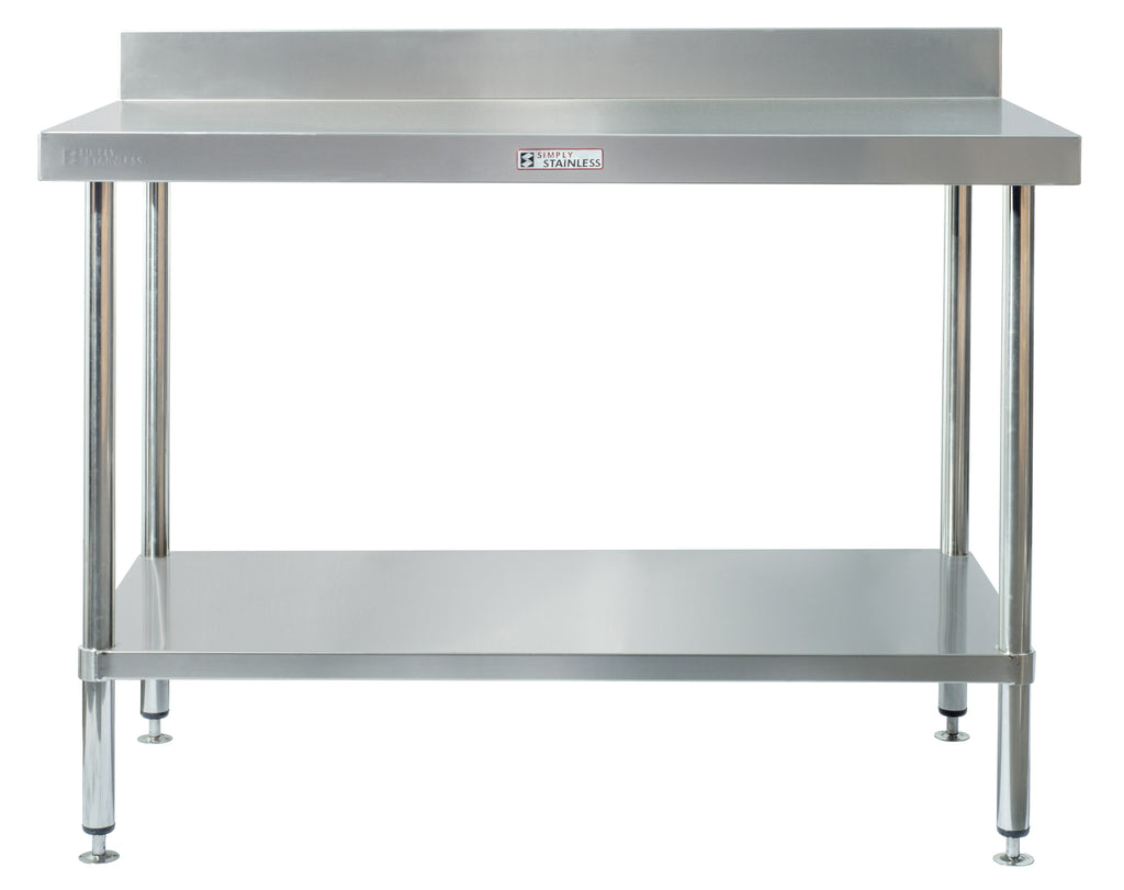 Simply Stainless Wall Table Work Bench 600mm : SS020600