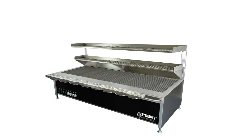 Synergy Trilogy Four Burner Grill with Accessories : ST1700BLK