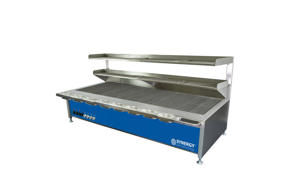 Synergy Trilogy Four Burner Grill with Accessories in Blue : ST1700B
