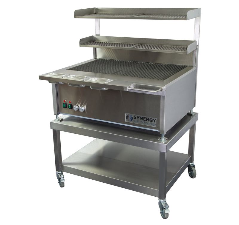 Synergy Trilogy Two Burner Grill with Accessories : ST900