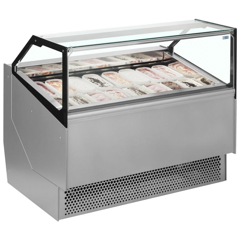 Interlevin ISA Ventilated Scoop Ice Cream Display : STD24