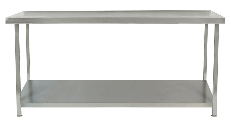 Parry Stainless Steel Table One Undershelf 600 X 600 X 900