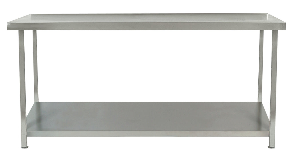 Parry Stainless Steel Table One Undershelf 1800 X 600 X 900