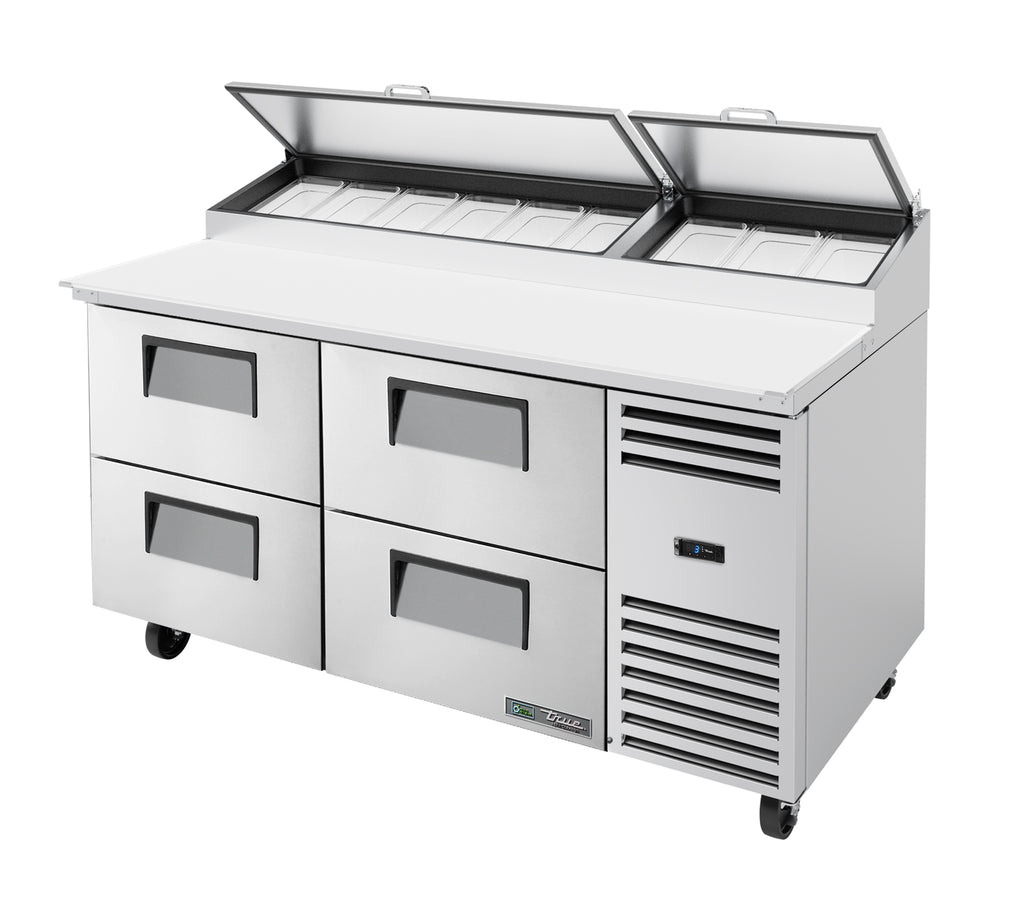 True Refrigerated Prep Station 9 Pan TPP-AT-67D-4-HC