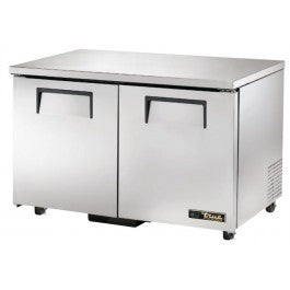 True 247 Litre Two Door Undercounter Freezer TUC-48F-HC