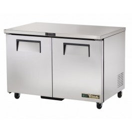 True 247 Litre Two Door Undercounter Fridge TUC-48-HC