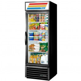 True 466Litre One Glass Door Merchandiser Fridge GDM-19T-HC-TSL01