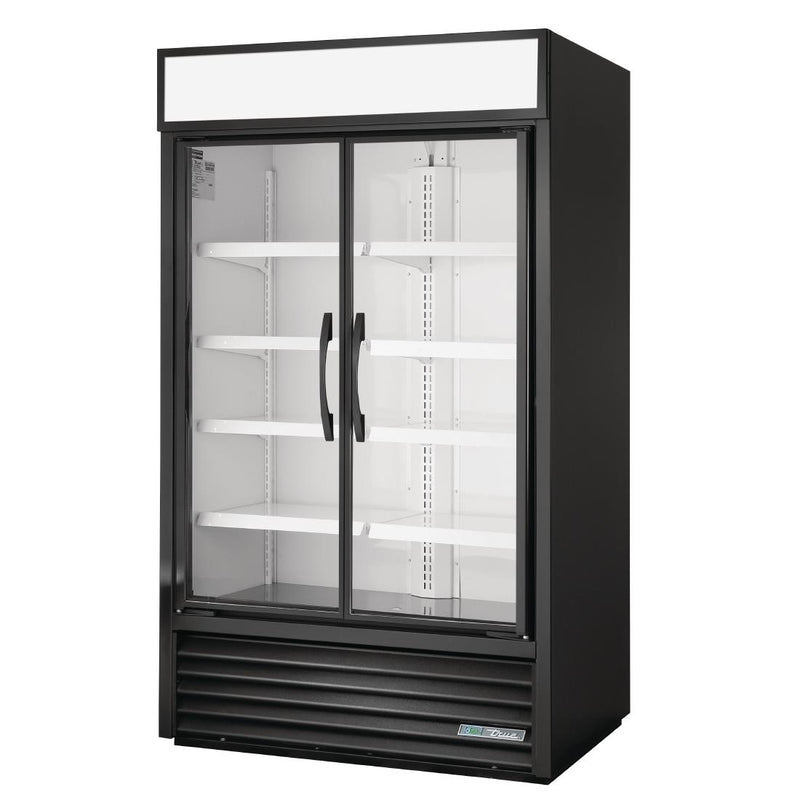 True 864Litre Two Glass Door Merchandiser Fridge TVM-48SL-HC
