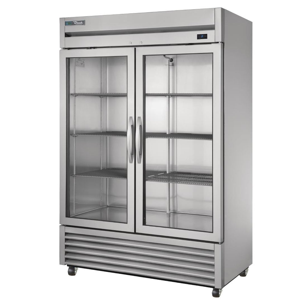 True 914 Litre Two Glass Door Fridge T-49G~FGD01