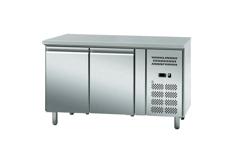 U-Select Two Door Undercounter Fridge 206 litre : BK 122-1