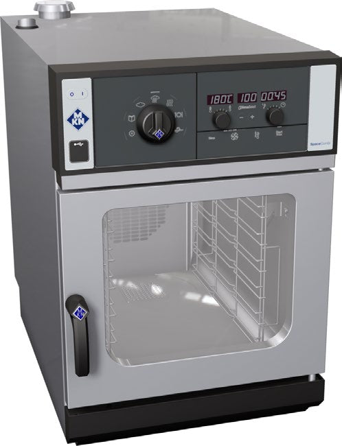 MKN 6 Rack SpaceCombi Classic 6.1 with Cleaning System