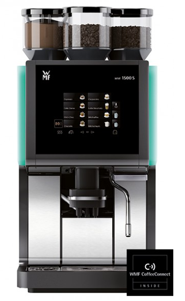 WMF 1500 S Standard Model 2 with plumbed water