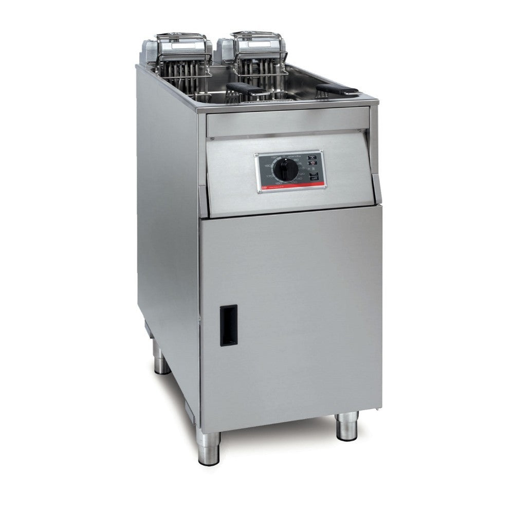 Lincat FriFri Basic+ 411 Electric Free-standing Single Tank Fryer 2 Baskets YF41100/B500