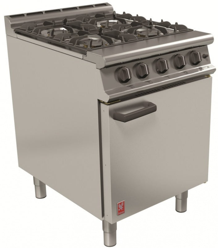 Falcon Four Burner Open Top Oven Range : G3161