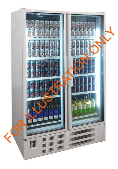 Frost Tech Upright Display Chiller UHGC120: 50013
