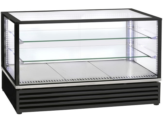 Roller Grill 2/1 GN Display with two shelves black CD1200